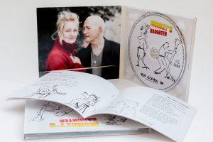 Monkey Daughter - Wir ziehen um - CD mit Booklet