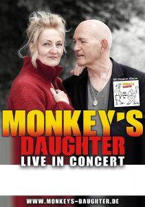 Monkeys Daughter Live in Concert Plakat